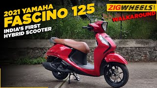 2021 Yamaha Fascino 125 Walkar…