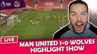 Rashford puts Man United 2nd | Manchester United 1-0 Wolves EPL Highlights Show