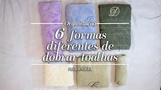 Como dobrar toalha – 6 formas diferentes