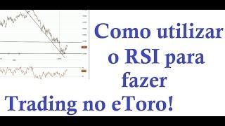 Como utilizar o RSI para comprar e vender ações, indices, forex e matérias primas no eToro