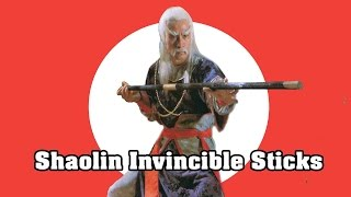 Wu Tang Collection Shaolin Invincible Sticks