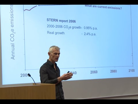 Kevin Anderson - The Ostrich or the Phoenix? … dissonance or creativity in a changing climate