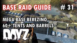 Mega Base Berezino - Biggest Base in DayZ SA - Base Raid Guide #31 - Inquisam