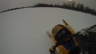 Ski Doo REV MXZ X-RS 800 Deep Powder Carves & Catwalks