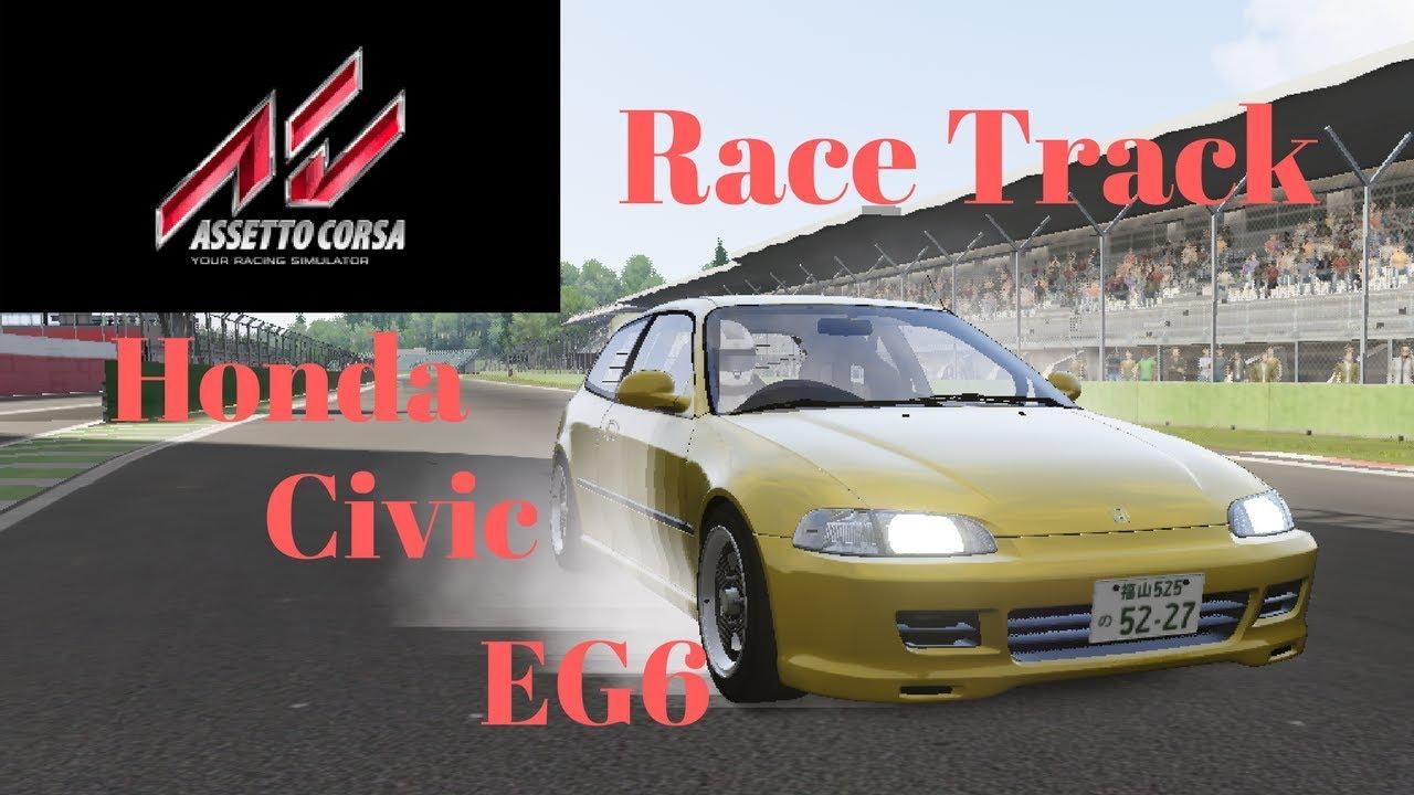 Honda Civic EG6 | Race Track | Assetto Corsa