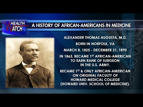 Black History Makers In Medicine