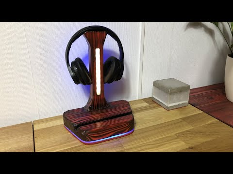 LED Headphone Stand - Girl and Boy Edition Part2