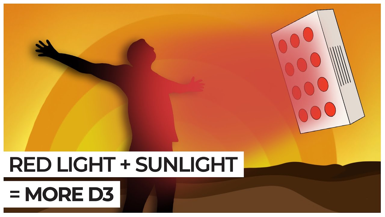 How to Increase Vitamin D Levels with Red Light Therapy ...