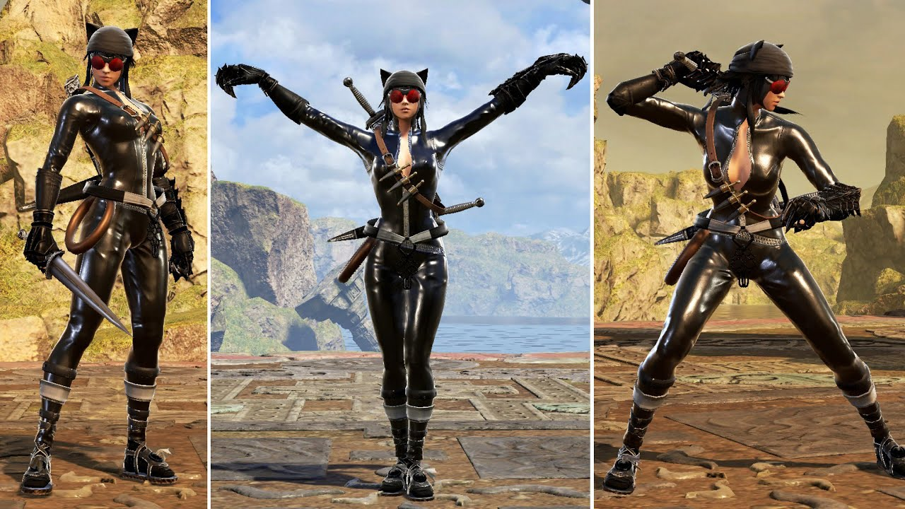 SoulCalibur 6 Character Creation Tutorial: Catwoman