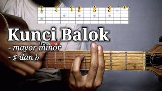 Kunci Balok (part II) - Mayor Minor # dan b