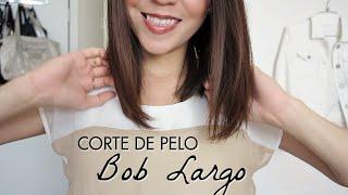 Corte de Pelo Bob Largo Tutorial! Cómo cortarse el cabello uno mismo