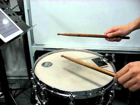 G5 - Snare Drum - Allegro Energico (mm.40-62)