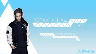 Tokio Hotel - Break Away LIVE Instrumental Cover