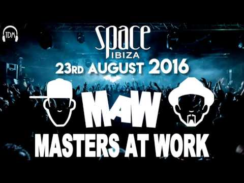 Masters at Work (Kenny Dope & Louie Vega) @ Space (Ibiza, ES) - 23.08.2016