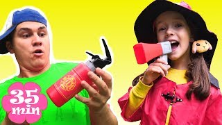 Firefighters Song | + More Nursery Rhymes and Educational songs for kids