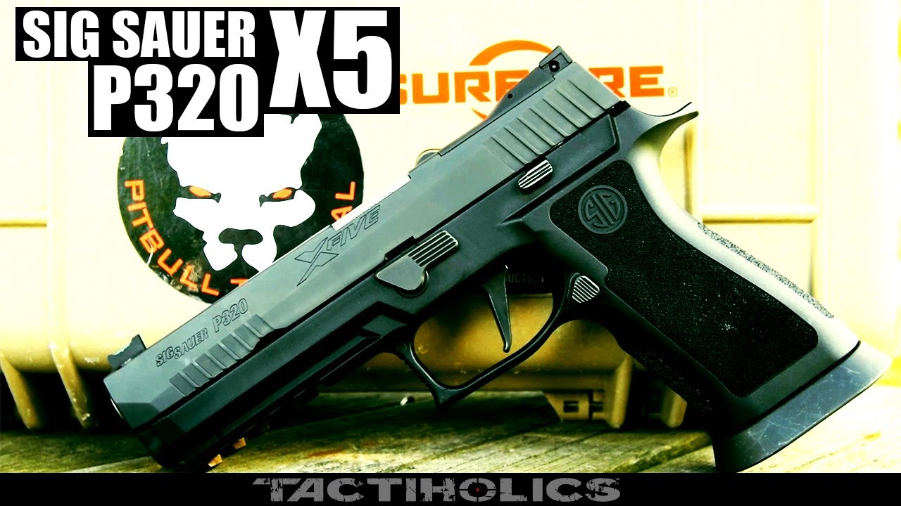 Sig Sauer P320 X5 | Competition Kingpin - Tactiholics™