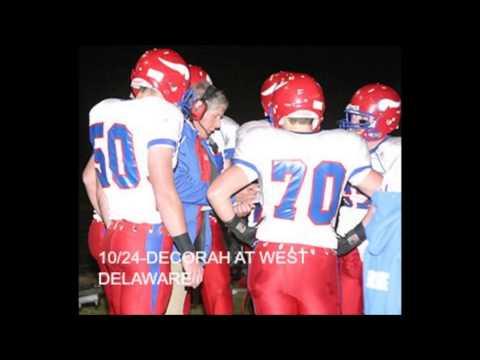 10-24 DECORAH FOOTBALL AT WEST DELAWARE