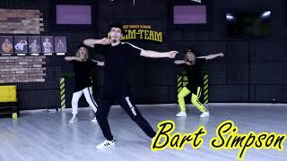 "Хип-хоп танцы – школа Dream Team ""Урок 9"". Базовое движение ""Bart Simpson"""