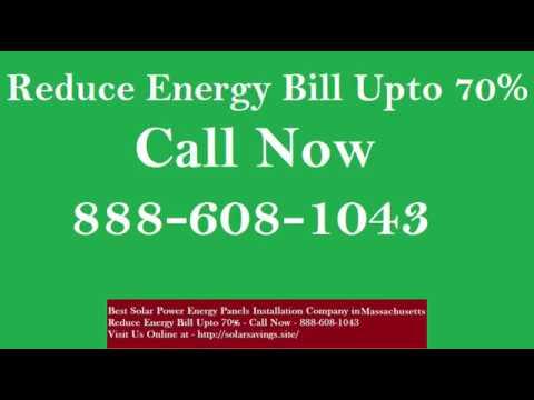 Best Solar Power (Energy Panels) Installation Company in Hopkinton Massachusetts MA