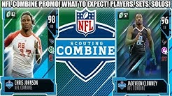 NFL COMBINE PROMO! WHAT TO EXPECT! COMBINE WARRIORS, SETS, SOLOS! | MADDEN 19 ULTIMATE TEAM