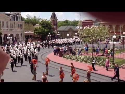Oak Grove High School Marching Band @ Disney - May 2013