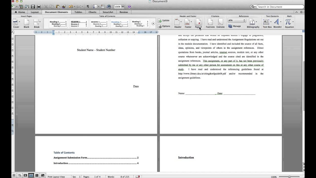 microsoft word template for mac