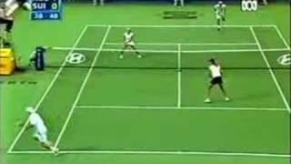 Federer & Mirka vs Hewitt & Molik - part 2