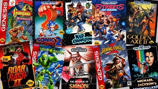 Top 300 best Sega Genesis games in chronological order. 1989 -1997