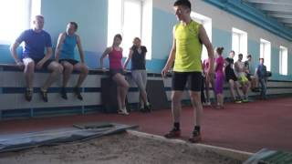 Контрольно-переводные экзамены 2016  Легкая атлетика Прыжок в длину 2