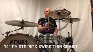 "14"" Paiste PSTX Swiss Thin Crash"