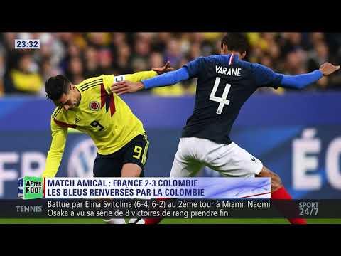 After Foot du vendredi 23/03 – Partie 2/3 -  Débrief de France/Colombie (2-3)