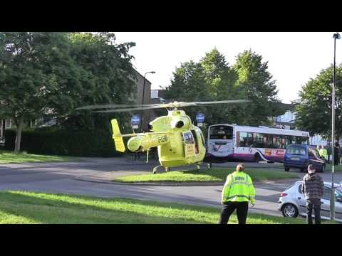 South Yorkshire Air Ambulance in Westfield, Sheffield