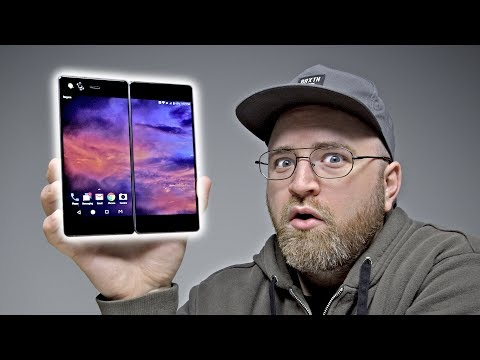 Thumbnail: The Dual Screen, Foldable Smartphone Is REAL!