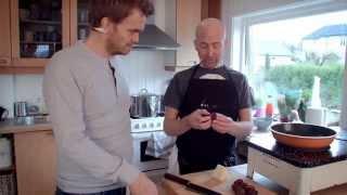 Fredriks Julekjøkken - Juletapas: Dadler Med Bacon