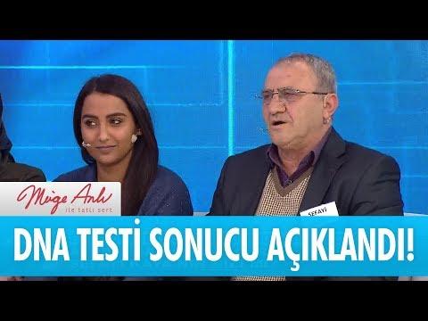 DNA testi sonucu açıklandı! - Müge Anlı İle Tatlı Sert 11 Ocak 2018