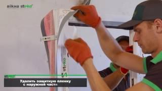 видео монтаж металлопластиковых окон