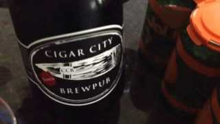 "Beer Sunday just got even better: Cigar City ""Peanut Allergy"" in a growler!"