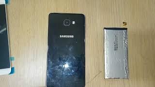Galaxy A9 SM A910 desmontagem Wolftechdicas