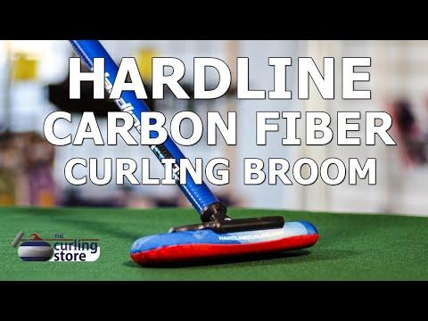 Hardline Carbon Fiber Broom | The Curling Store