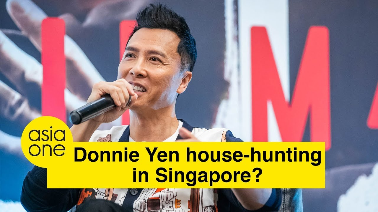 Donnie Yen house-hunting in Singapore?