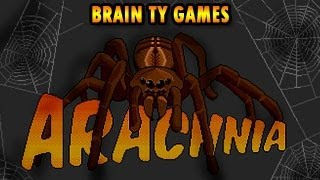 Arachnia Flash Game, Walkthrough Video - Brain TY Games