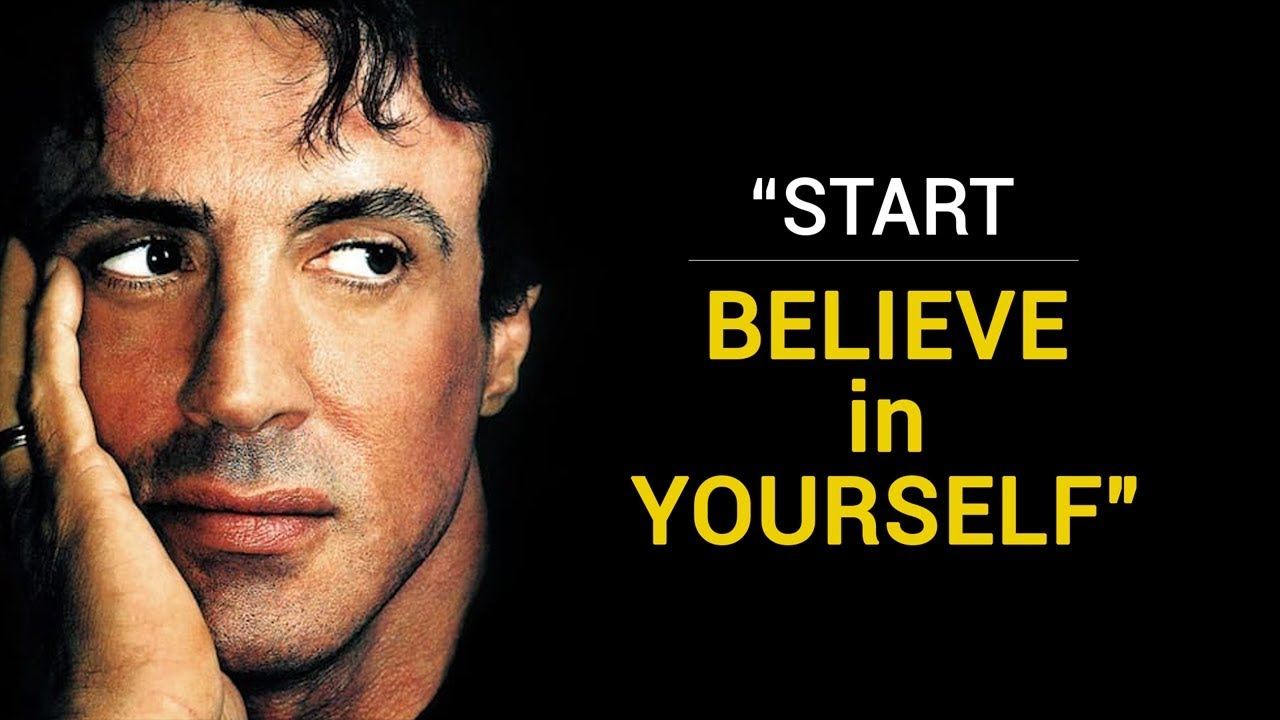 Believe In Yourself Best Motivational Speech From Rocky Balboa Sylvester Stallone Youtube
