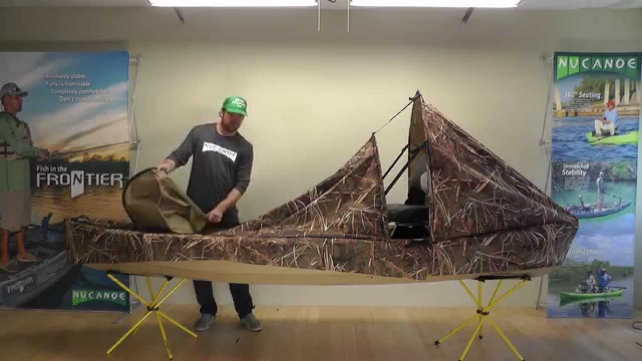 build style to up on blinds how a youtube duck pop scissors canoe blind watch