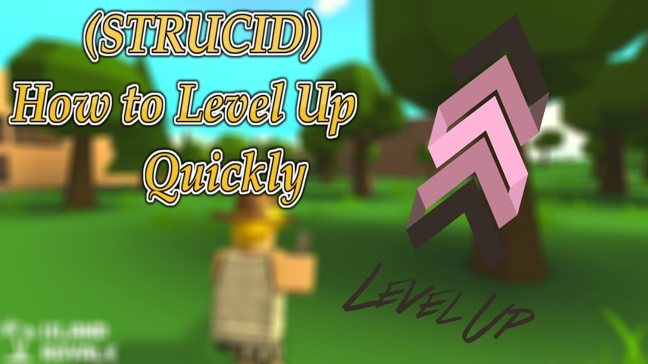 (STRUCID) How to level up quickly - YouTube