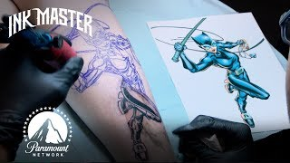 Best Tattoos of Ink Master (Season 3) | Super-Villains & Realistic Anatomical Tattoos