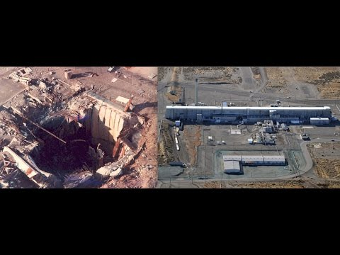 Are We at War Massive Hole  Tunnel Collapse Hanford Plutonium Nuclear Facility