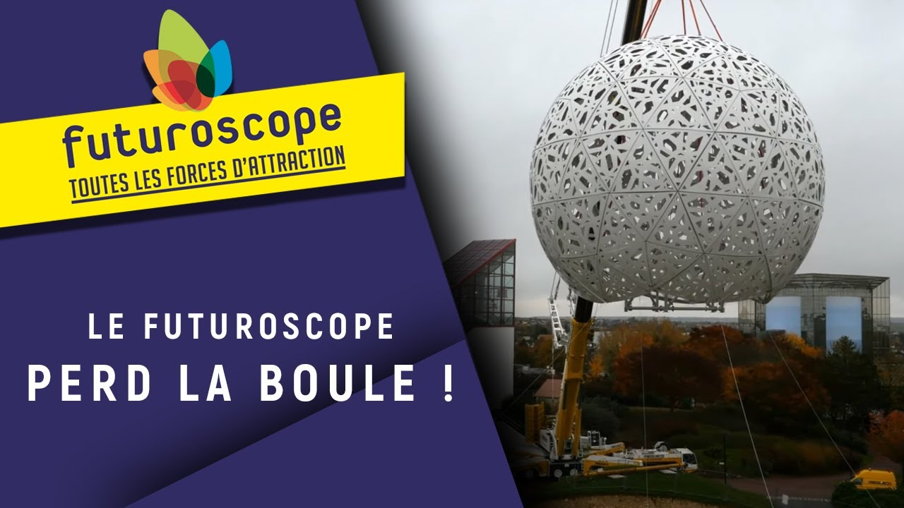 making of de la boule du futuroscope les attractions et. Black Bedroom Furniture Sets. Home Design Ideas