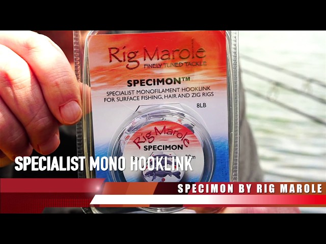 Rig Marole - Specimon - Carp Fishing