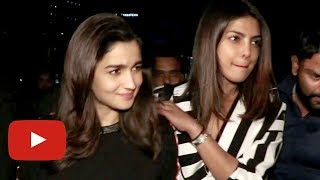 Priyanka Chopra Dinner Date With Alia Bhatt | BFF Moment
