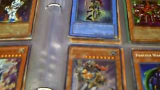 Yugioh Updated Trade Binder    Lightsworns and GOLD SARCOPHAGUS!!!